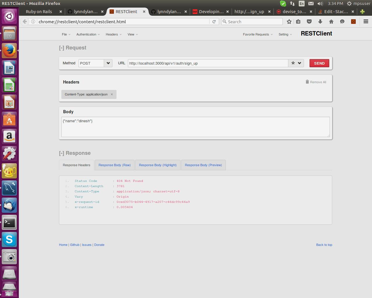 Simple Token Authentication Gem Rails Console