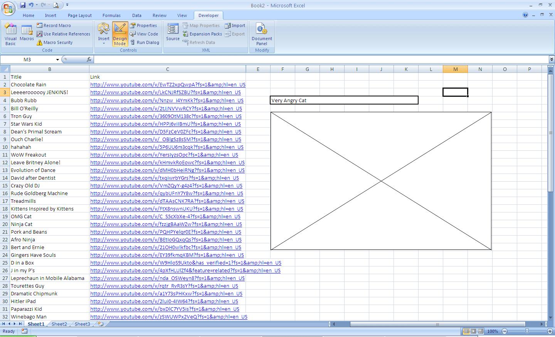 Excel Vba Manipulate Shockwave Flash Property