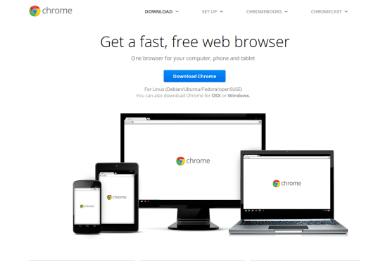 Install Google Chrome in Ubuntu 15.10