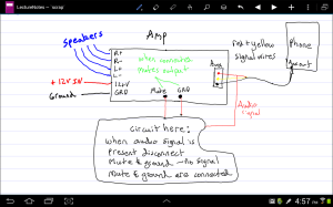 switches  Control a switch with headphone output jack  Electrical Engineering Stack Exchange