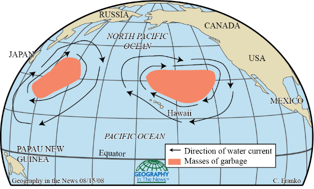 Image result for the great pacific garbage patch