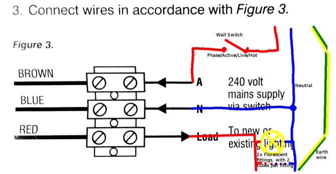 clarify light sensor wiring diagram  home improvement stack