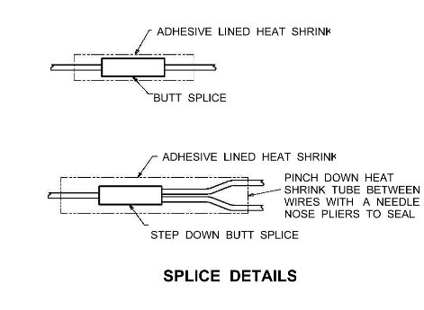 butt splice electrical symbol  electrical engineering stack