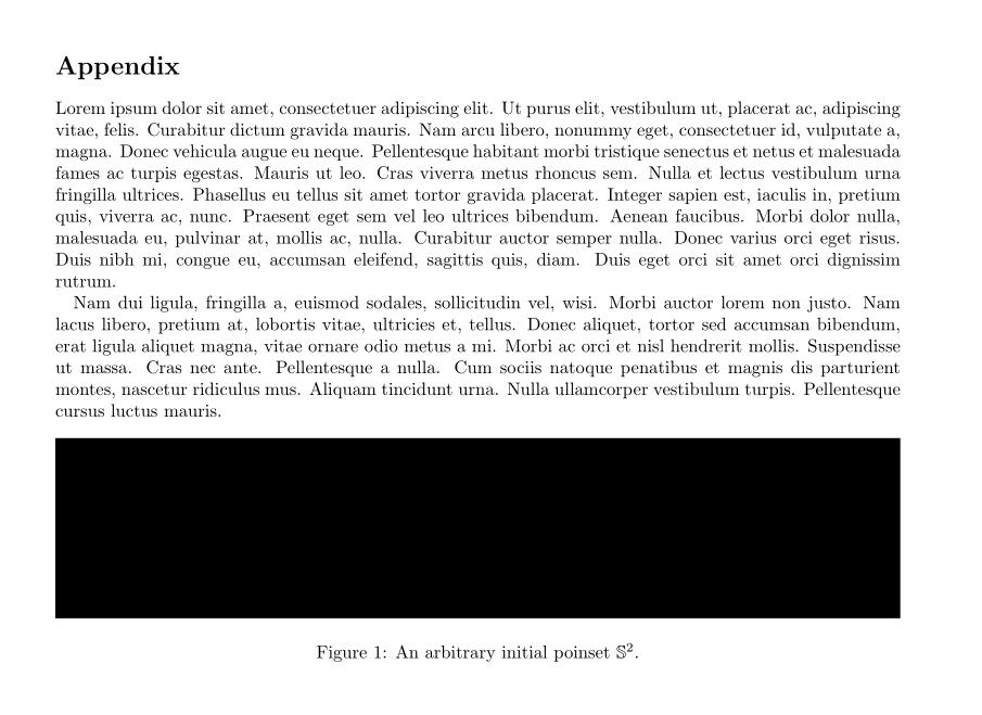 Appendices Single Column Appendix In Twocolumn Article