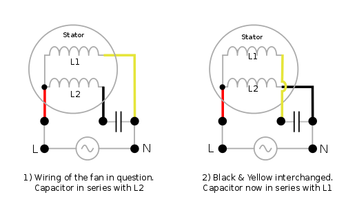 How Do I Re-wire A Ceiling-fan To Reverse Its