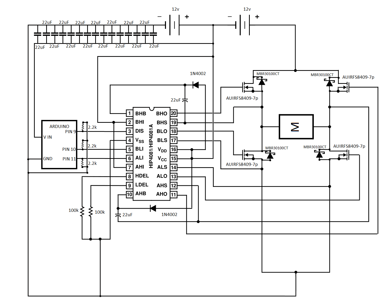 H Bridge Igbt Schematic