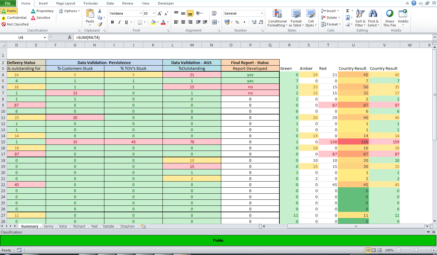 Excel If Statement To Sum If Cell Contains A Certain