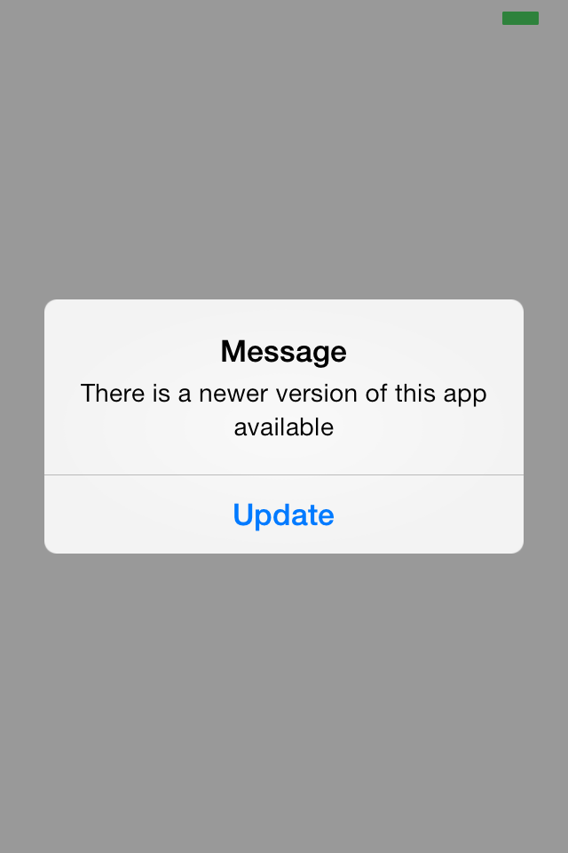 Ios How To Update The App From App Store If New App