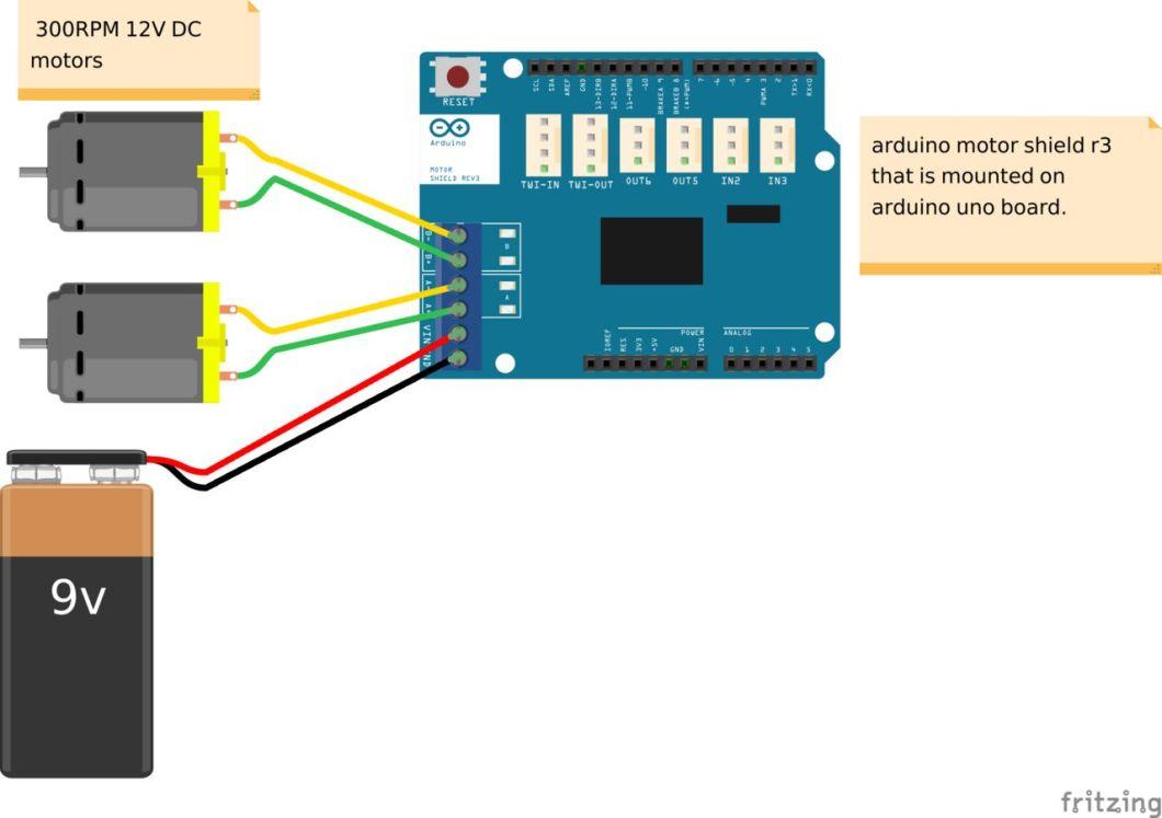 arduino motor shield dc motor code | Newmotorspot.co