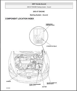 starting  Replacing Starter Relay on Honda Accord 2003  Motor Vehicle Maintenance & Repair