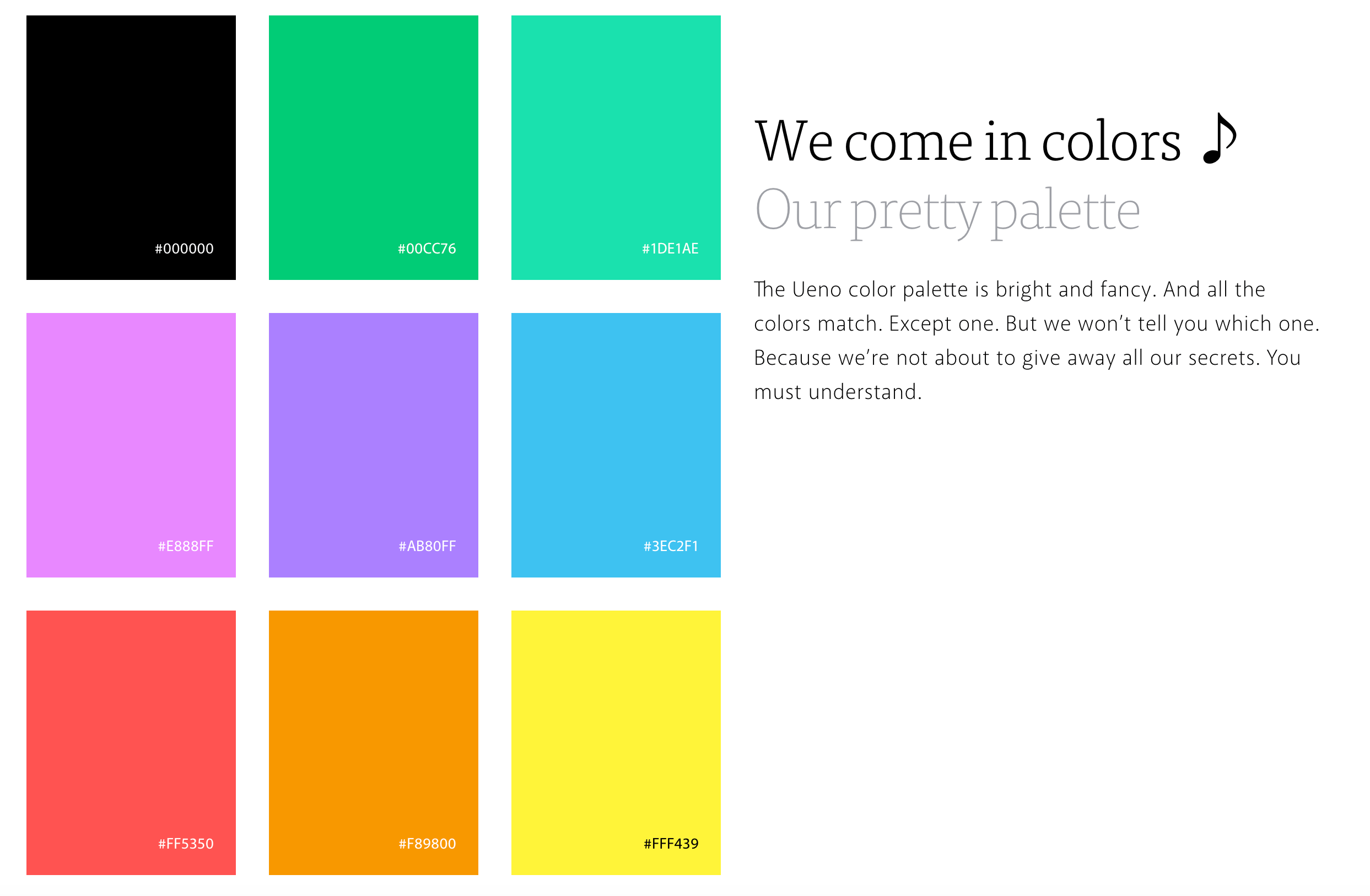 What Is The Pattern And Which Color Is The Odd One Out