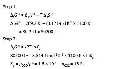 physical chemistry - Temperature in the Gibbs Free Energy ...