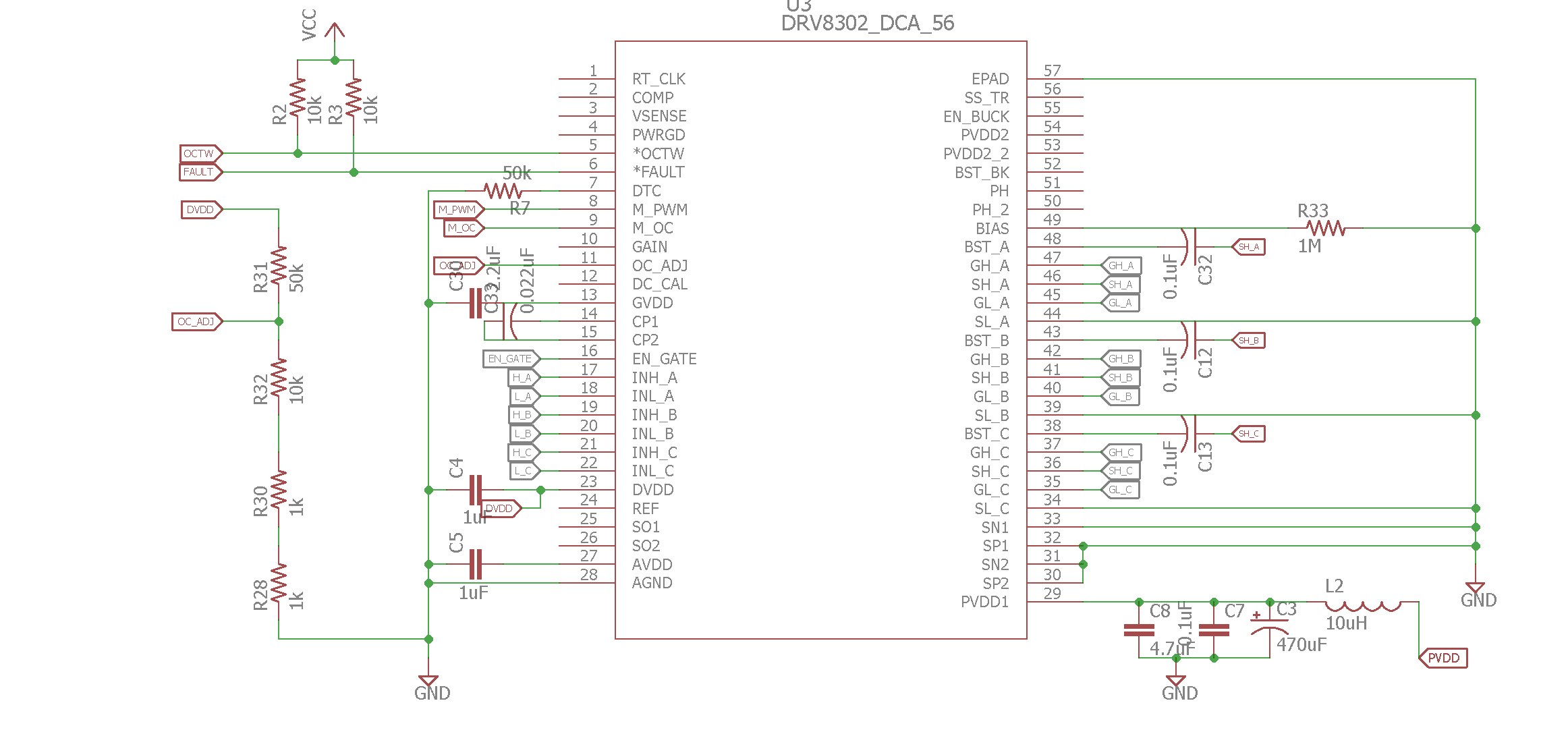 Problem With Atmega328p When Used With Drv Gate Driver