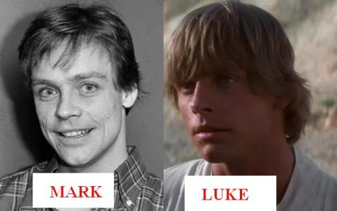 Image result for mark hamill scars