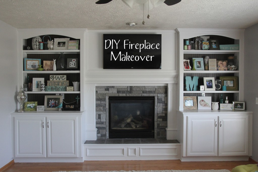 Diy Stone Fireplace Surround