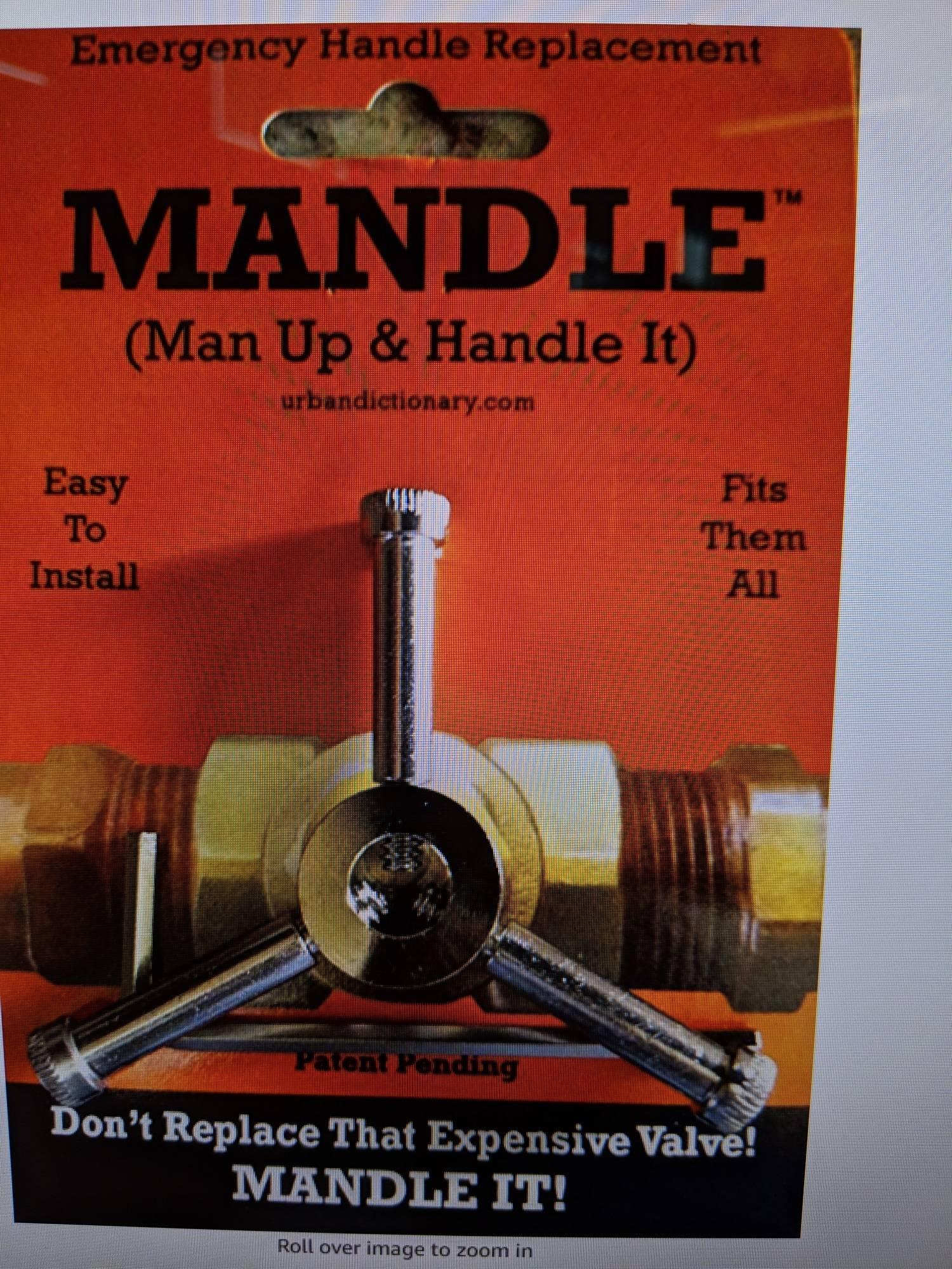 correct size outdoor spigot handle