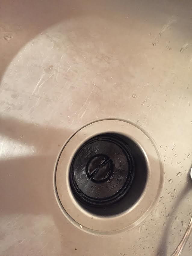 remove the stopper from my sink