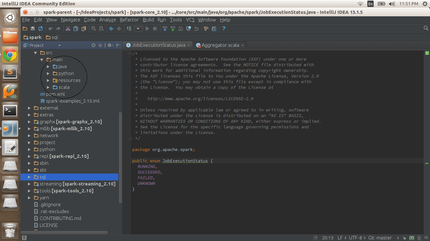 Is Anyone Having Success Mixing Scala And Java Files In Intellij
