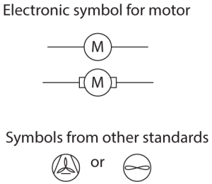 schematics  What is the symbol for a Fan on a circuit? Is