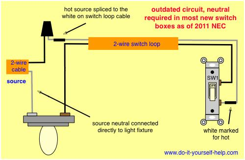 light switch wiring diagram loop  schematic wiring diagram