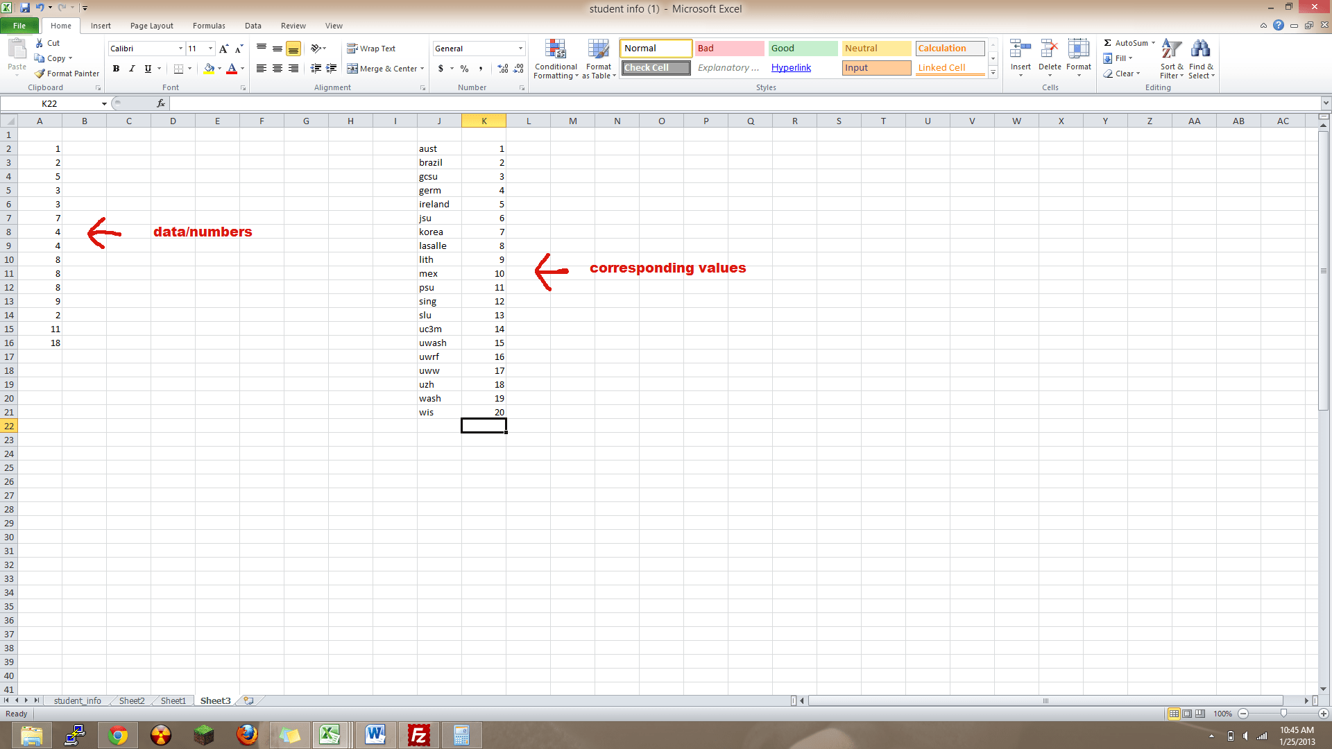 In Excel How Can I Automatically Change The Content Of A Cell If It Equals A Certain Value