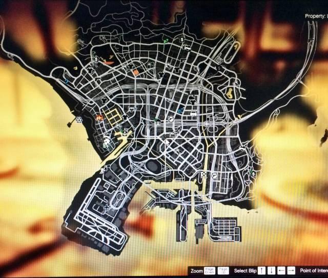 Trevors Gta V Map