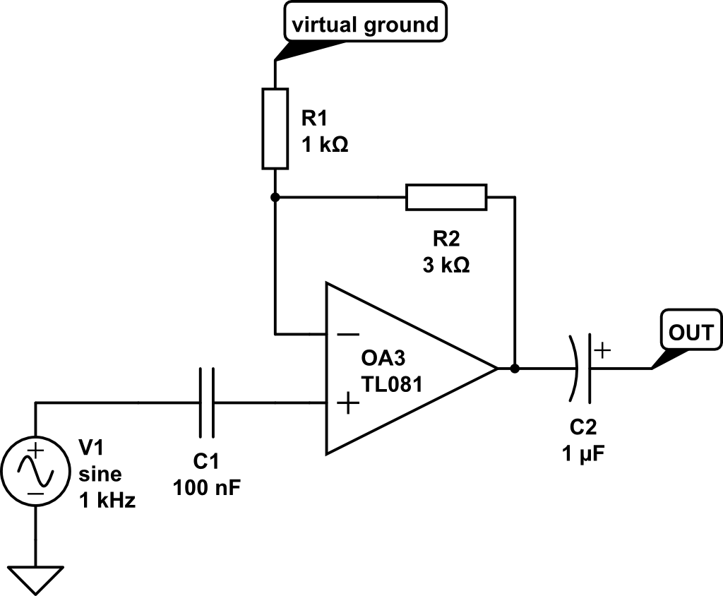 Wrg Block Diagram Inverting Amplifier