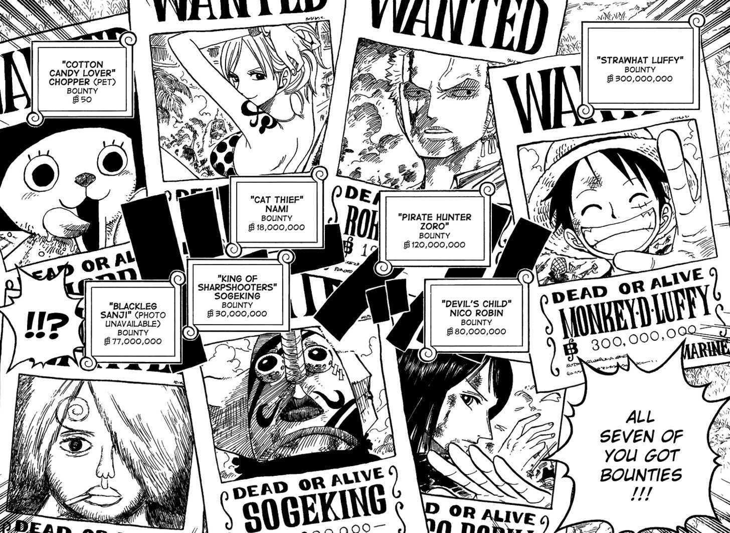 """Résultat de recherche d'images pour """"one piece wanted comics"""""""