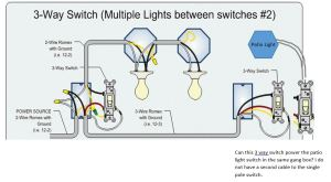 Can I power a single pole switch from the end of a 3 way