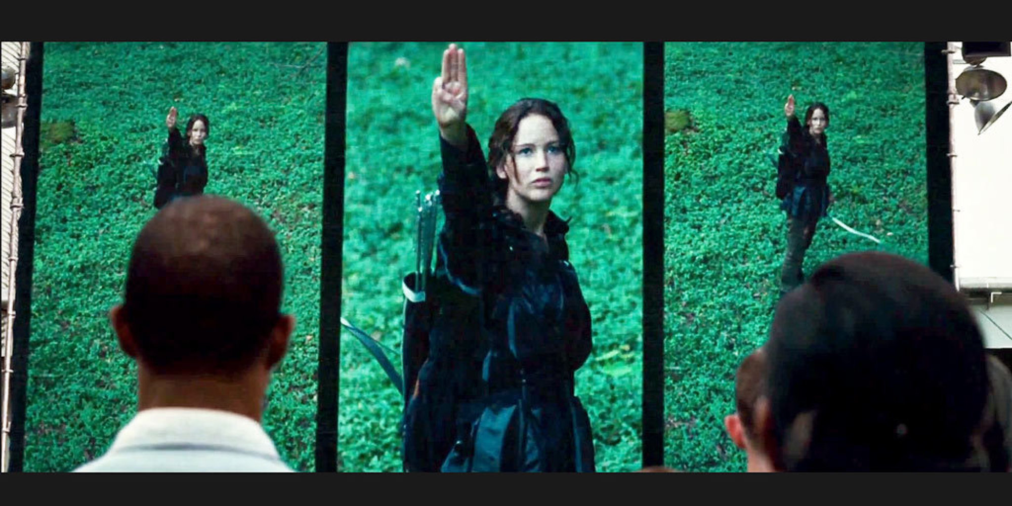 Is The Three Fingered Salute From The Hunger Games Trilogy