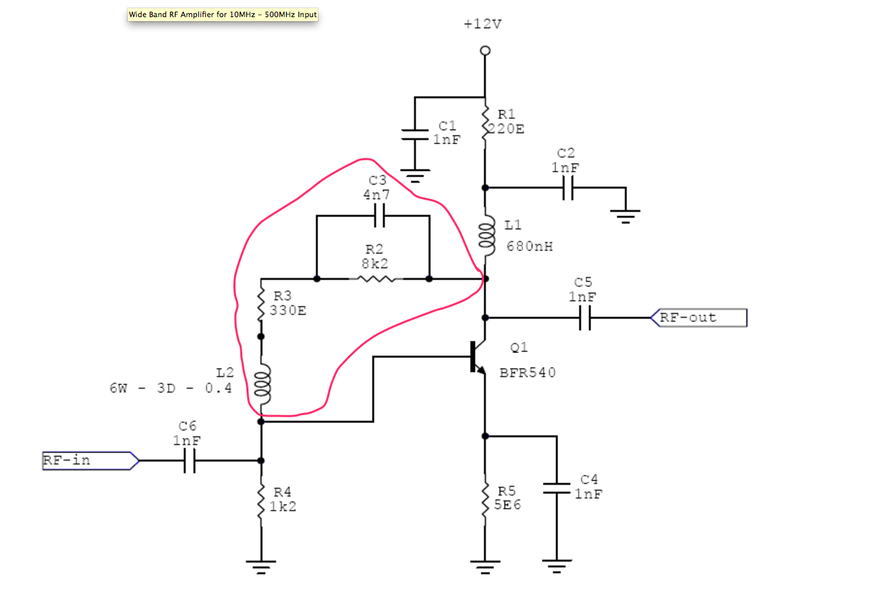 What S The Purpose Of This Section In An Rf Amplifier