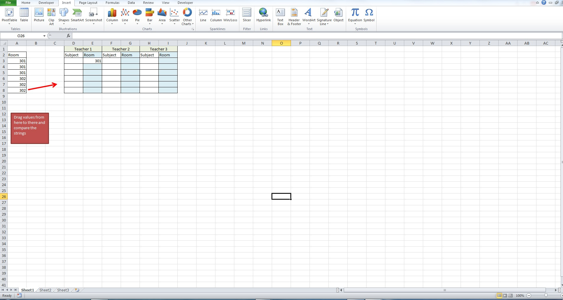 Excel Comparing Multiple Cells With Vba