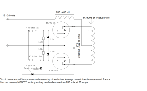 schematics  How does this wireless charger work