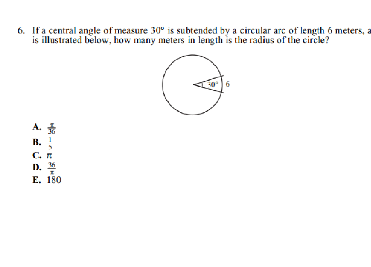 Arcs Of A Circle Geometry And Angles