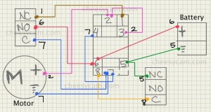 dc  Motor Speed Controller Causing Relay to Lose Voltage and Stop Working  Electrical