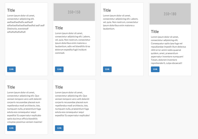 Bootstrap Card Grid Same Height | Applycard co
