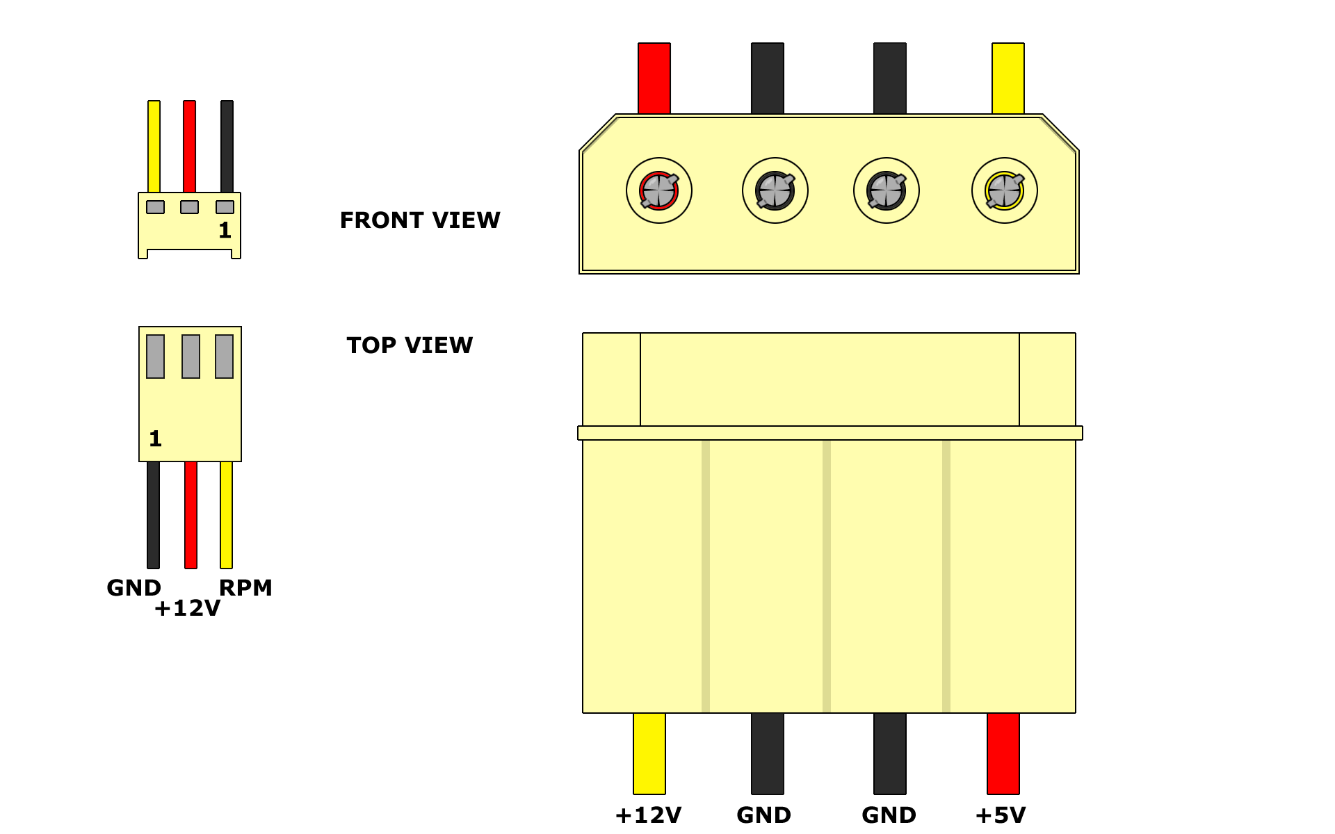Dell Power Supply Wiring Diagram