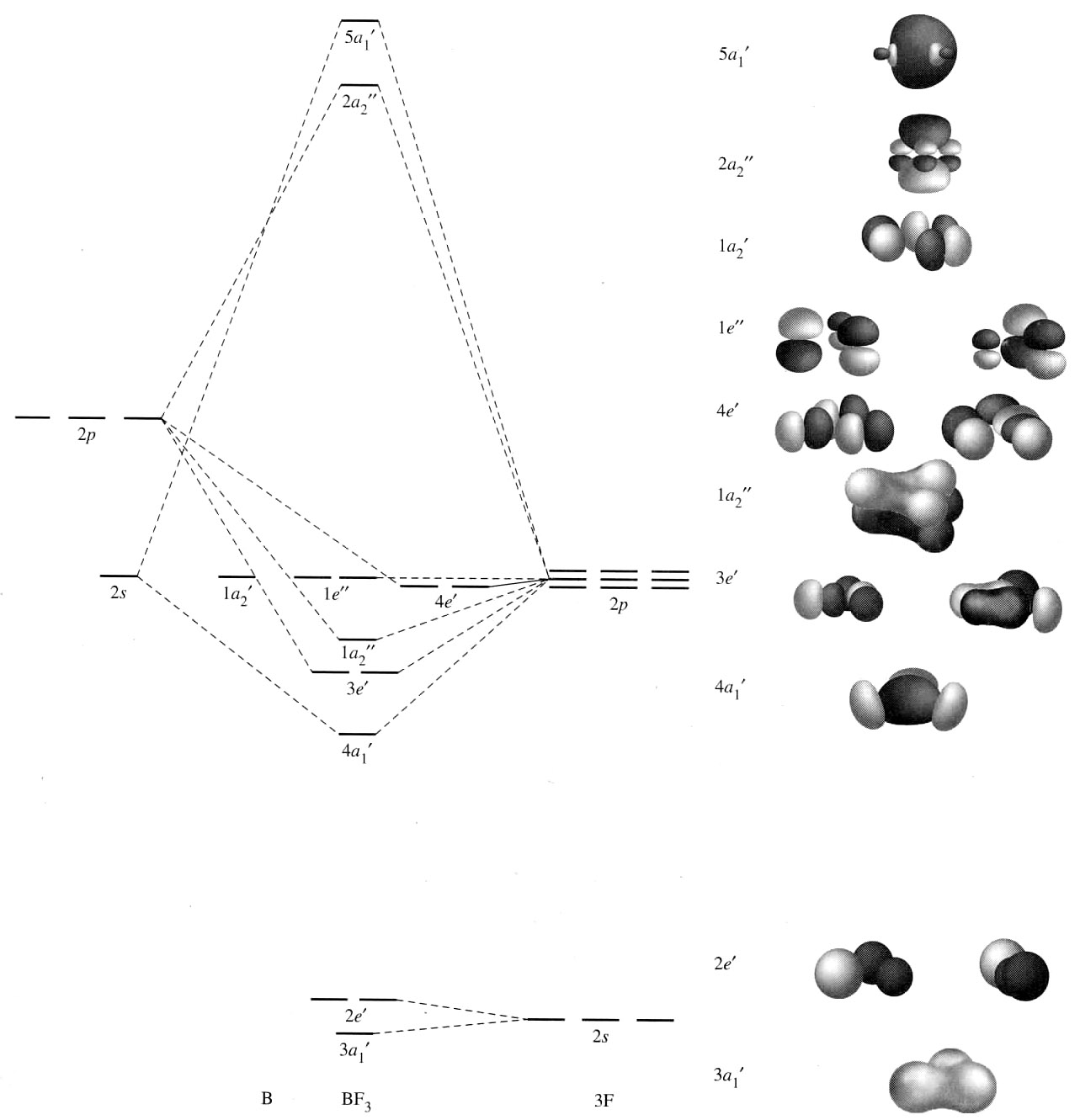 Molecular Orbital Diagram For Bf3