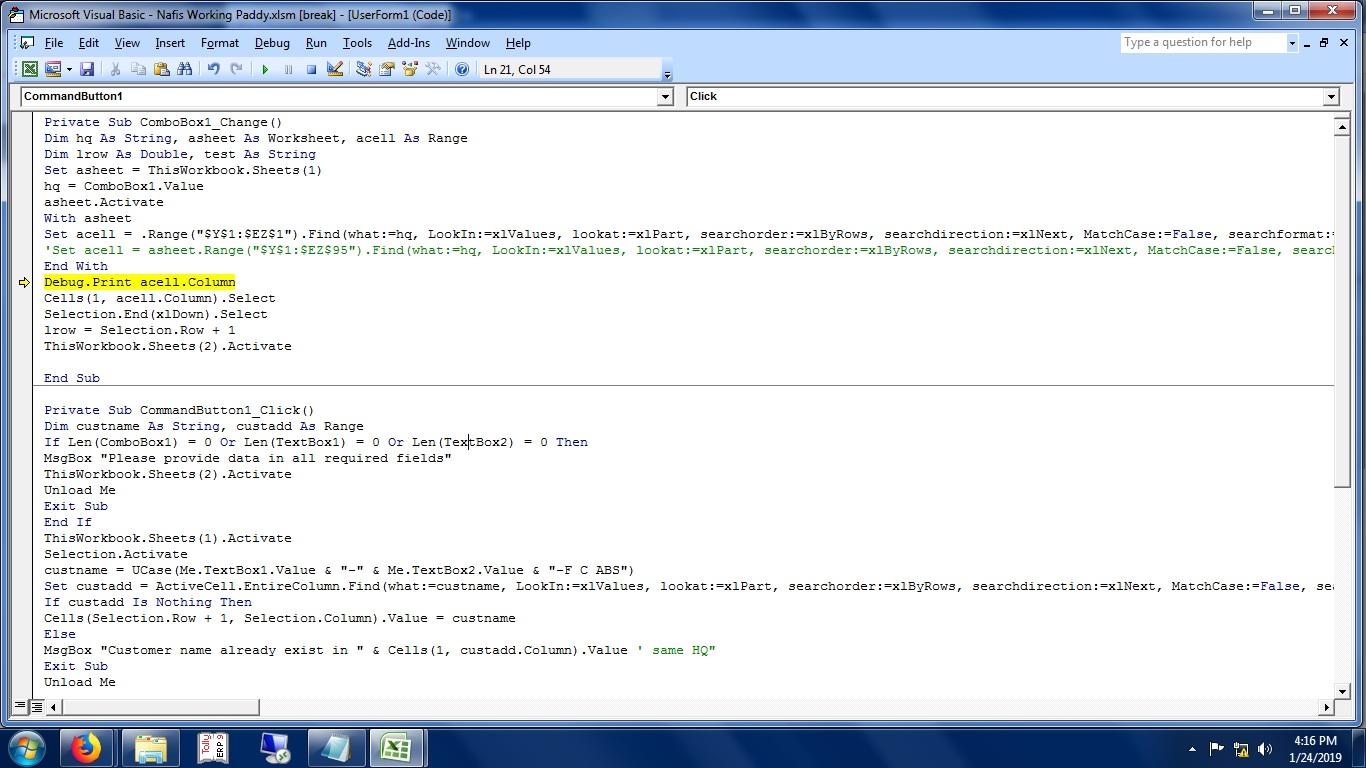 Excel Vba Worksheet Object Variable