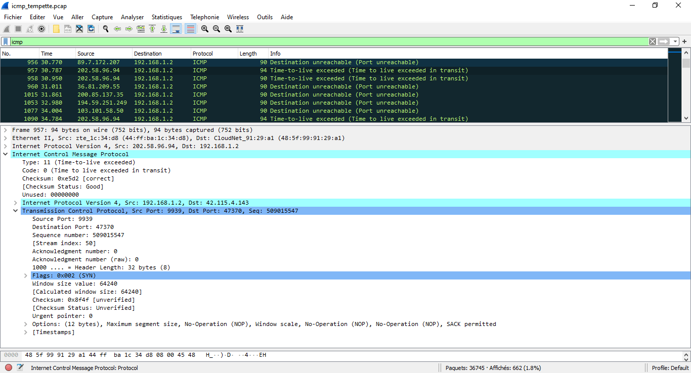 IPv4 & TCP over ICMP