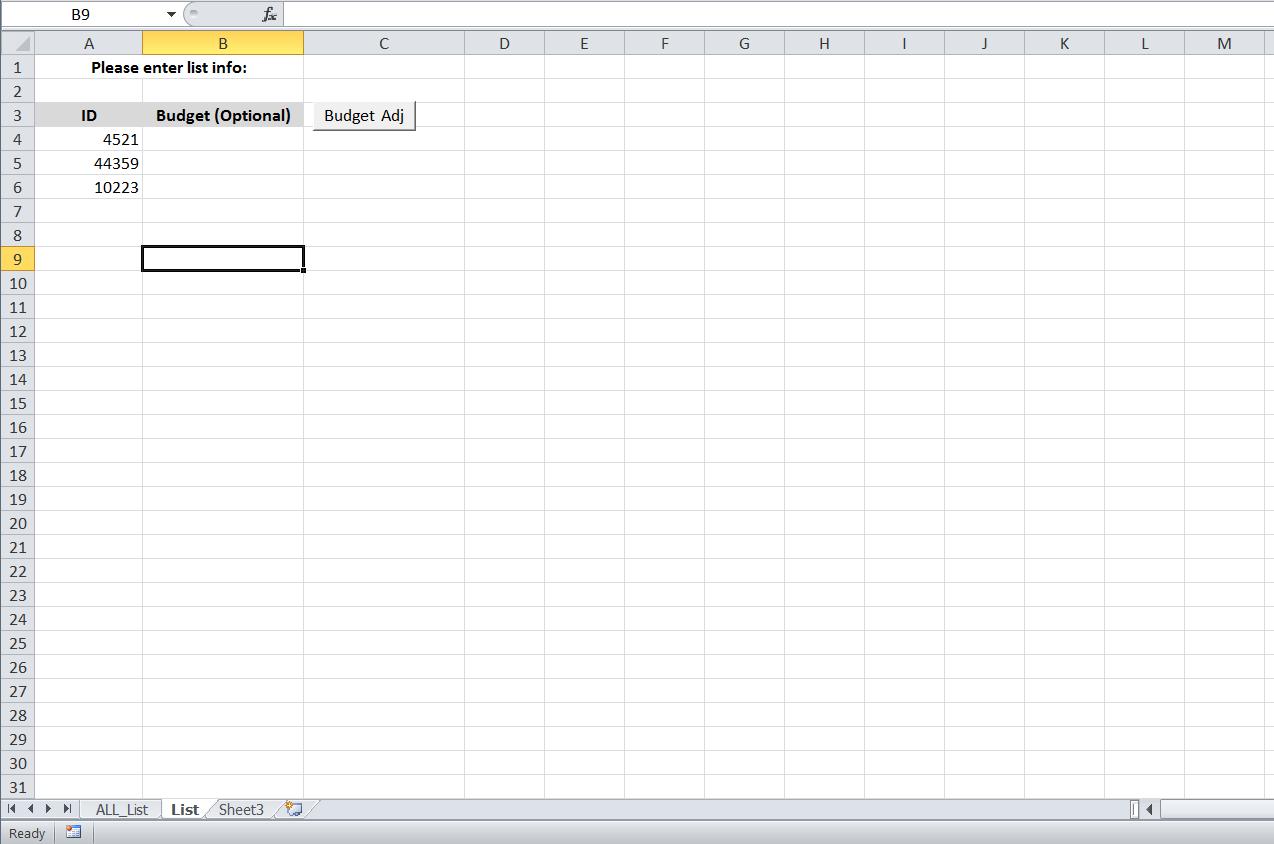 Vba Rename Worksheet Based On List