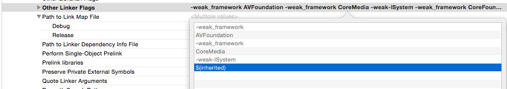 Undefined Symbols For Architecture Armv7 Xcode 6 2  5及之前