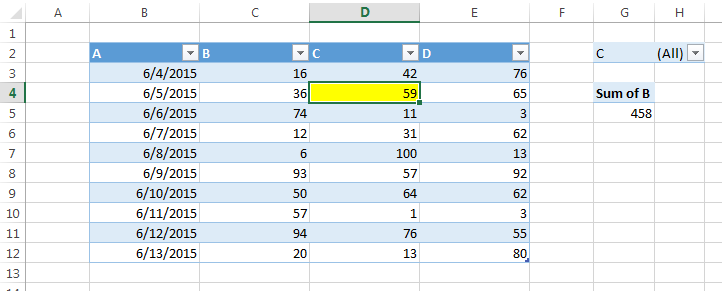 excel test if a value is a valid selection for a