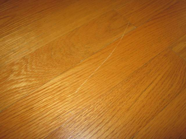 how to cure scratches and dents on hardwood floor - Home