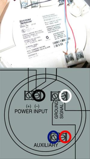 electrical  Need help with correct wiring when replacing