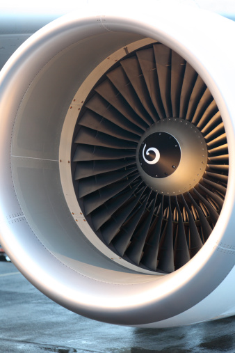 Aircraft Design What Are The Spiral Marks In The Center