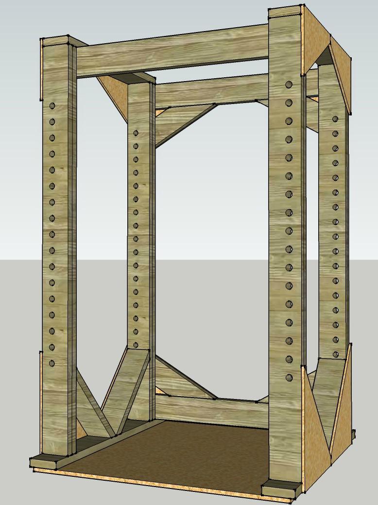 diy lifting cage