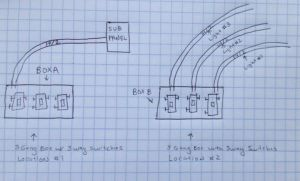 electrical  How do I wire three 3way switches in one