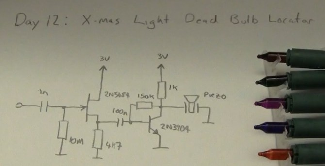 how to find a faulty bulb in a christmas lights string