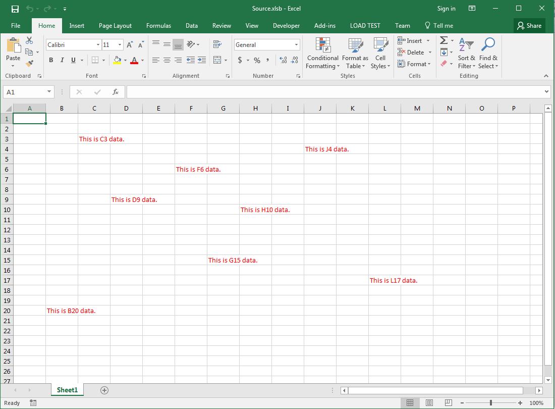 Reading Excel Xlsb Files In C